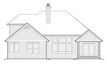 Architectural House Design - Craftsman Exterior - Rear Elevation Plan #48-163