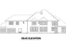 Home Plan - Mediterranean Exterior - Rear Elevation Plan #48-351