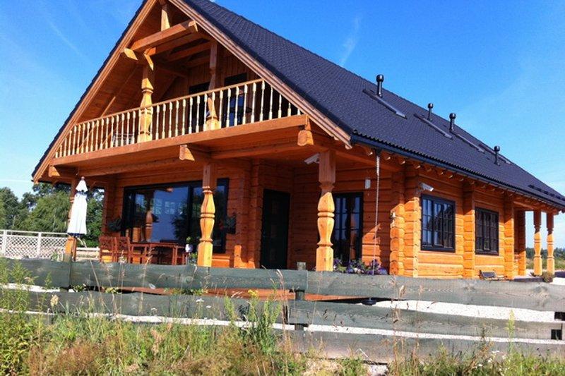 Log Style House Plan - 4 Beds 3 Baths 4206 Sq/Ft Plan #549-6