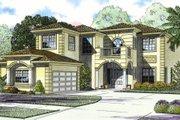 Mediterranean Style House Plan - 5 Beds 5 Baths 4731 Sq/Ft Plan #420-239