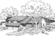Modern Style House Plan - 4 Beds 2.5 Baths 2210 Sq/Ft Plan #312-459 Exterior - Front Elevation