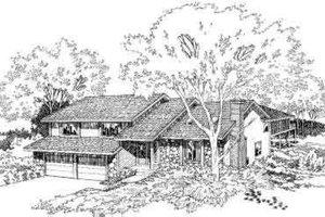 Modern Exterior - Front Elevation Plan #312-459