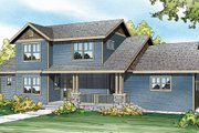 Country Style House Plan - 3 Beds 2.5 Baths 1948 Sq/Ft Plan #124-882 Exterior - Front Elevation