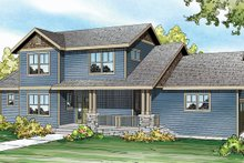 Dream House Plan - Country Exterior - Front Elevation Plan #124-882