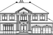 European Style House Plan - 5 Beds 3.5 Baths 3251 Sq/Ft Plan #23-836 Exterior - Other Elevation