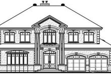 Home Plan - European Exterior - Other Elevation Plan #23-836