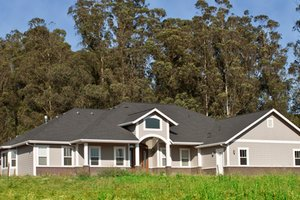 Ranch Exterior - Front Elevation Plan #515-1
