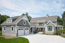 Dream House Plan - Farmhouse Exterior - Front Elevation Plan #928-14