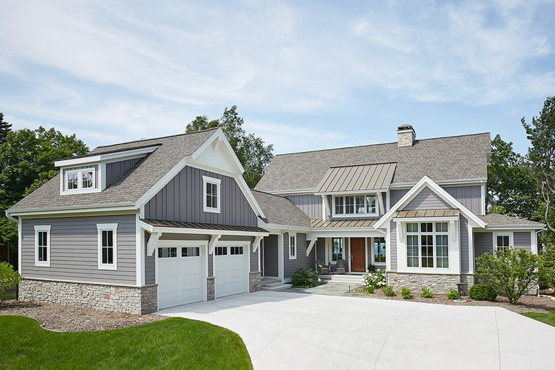 Farmhouse Style House Plan - 3 Beds 3.5 Baths 3799 Sq/Ft ...
