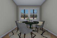 Architectural House Design - Traditional Interior - Dining Room Plan #1060-59