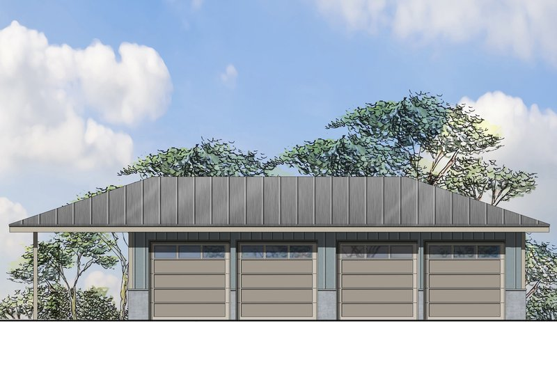 Traditional Exterior - Front Elevation Plan #124-975