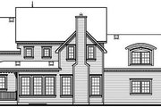 Victorian Style House Plan - 3 Beds 2.5 Baths 2590 Sq/Ft Plan #23-835 Exterior - Rear Elevation