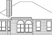 Traditional Style House Plan - 4 Beds 2 Baths 1777 Sq/Ft Plan #84-124 Exterior - Rear Elevation