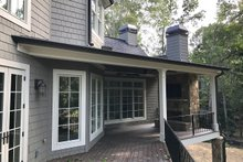 Home Plan - Traditional Exterior - Outdoor Living Plan #437-86