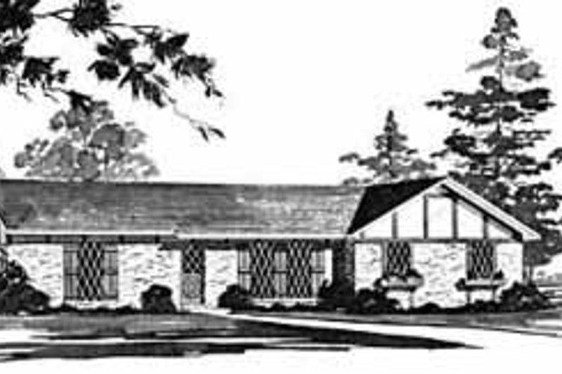 House Design - Ranch Exterior - Front Elevation Plan #36-357