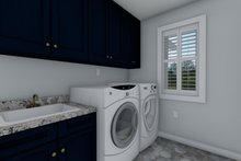Dream House Plan - Traditional Interior - Laundry Plan #1060-32