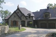European Style House Plan - 4 Beds 4.5 Baths 5051 Sq/Ft Plan #453-90 Exterior - Other Elevation