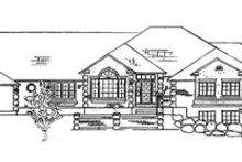 Dream House Plan - European Exterior - Front Elevation Plan #5-177