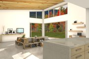 Modern Style House Plan - 3 Beds 2 Baths 2115 Sq/Ft Plan #497-31 Interior - Family Room