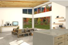 Architectural House Design - Modern Interior - Family Room Plan #497-31