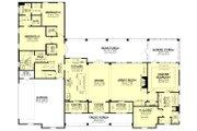 Farmhouse Style House Plan - 3 Beds 2 Baths 2589 Sq/Ft Plan #430-224 Floor Plan - Main Floor Plan