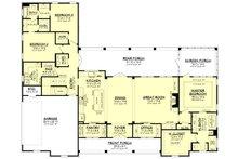 Farmhouse Floor Plan - Main Floor Plan Plan #430-224