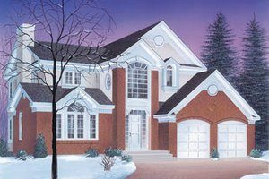 Traditional Exterior - Front Elevation Plan #23-243