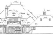 European Style House Plan - 4 Beds 3.5 Baths 4182 Sq/Ft Plan #310-345 Exterior - Other Elevation