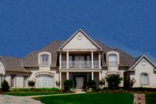 Ranch Exterior - Front Elevation Plan #52-114