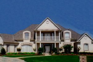 House Design - Ranch Exterior - Front Elevation Plan #52-114