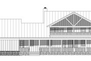 Country Style House Plan - 4 Beds 2.5 Baths 2700 Sq/Ft Plan #932-146 Exterior - Rear Elevation