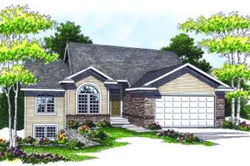 Traditional Exterior - Front Elevation Plan #70-792