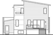 Modern Style House Plan - 4 Beds 2.5 Baths 1999 Sq/Ft Plan #23-2700 Exterior - Rear Elevation