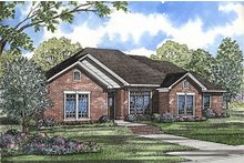 House Plan Design - European Exterior - Front Elevation Plan #17-140