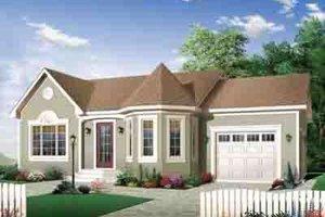 Architectural House Design - European Exterior - Front Elevation Plan #23-643