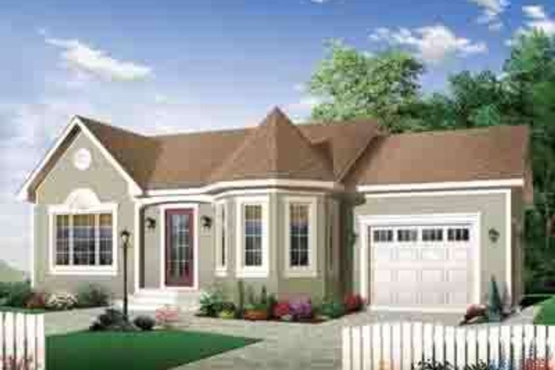 Dream House Plan - European Exterior - Front Elevation Plan #23-643