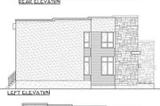 Modern Style House Plan - 3 Beds 2.5 Baths 2370 Sq/Ft Plan #25-4415 Exterior - Rear Elevation