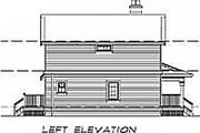 Farmhouse Style House Plan - 3 Beds 2 Baths 1583 Sq/Ft Plan #47-384 Exterior - Other Elevation