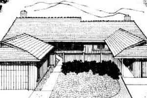 Traditional Exterior - Front Elevation Plan #303-282