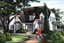 Architectural House Design - Cottage Exterior - Front Elevation Plan #137-289