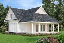 Architectural House Design - Cottage Exterior - Rear Elevation Plan #45-595