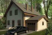 European Style House Plan - 3 Beds 2 Baths 1783 Sq/Ft Plan #906-6 Exterior - Front Elevation