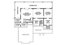 Farmhouse Floor Plan - Lower Floor Plan Plan #119-433