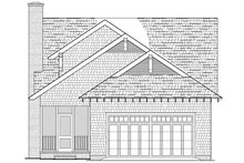 House Plan Design - Rear view - 1900 square foot Cottage home