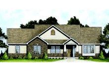 Dream House Plan - Craftsman Exterior - Front Elevation Plan #58-204