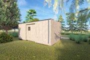 Modern Style House Plan - 2 Beds 1 Baths 199 Sq/Ft Plan #549-32