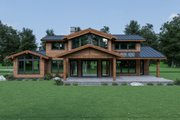 Contemporary Style House Plan - 3 Beds 2.5 Baths 2926 Sq/Ft Plan #1070-94 Photo