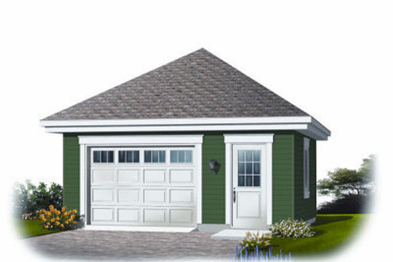 Traditional Exterior - Front Elevation Plan #23-769 - Houseplans.com