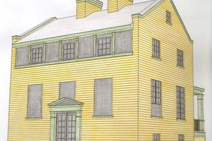 Colonial Exterior - Front Elevation Plan #477-8