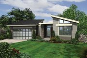 Modern Style House Plan - 4 Beds 4 Baths 3242 Sq/Ft Plan #48-606 Exterior - Front Elevation